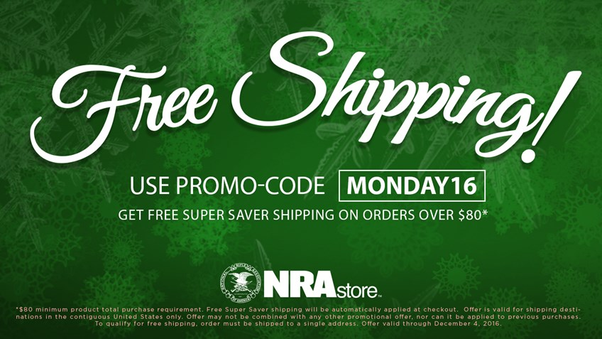 Shop Cyber Monday at the NRAstore
