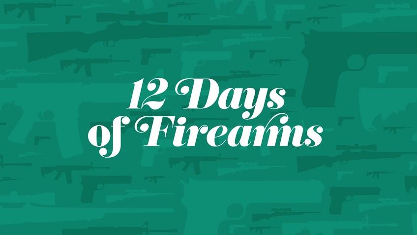 Day 8: J. Cooper Left-handed Pennsylvania Kentucky Flintlock Rifle