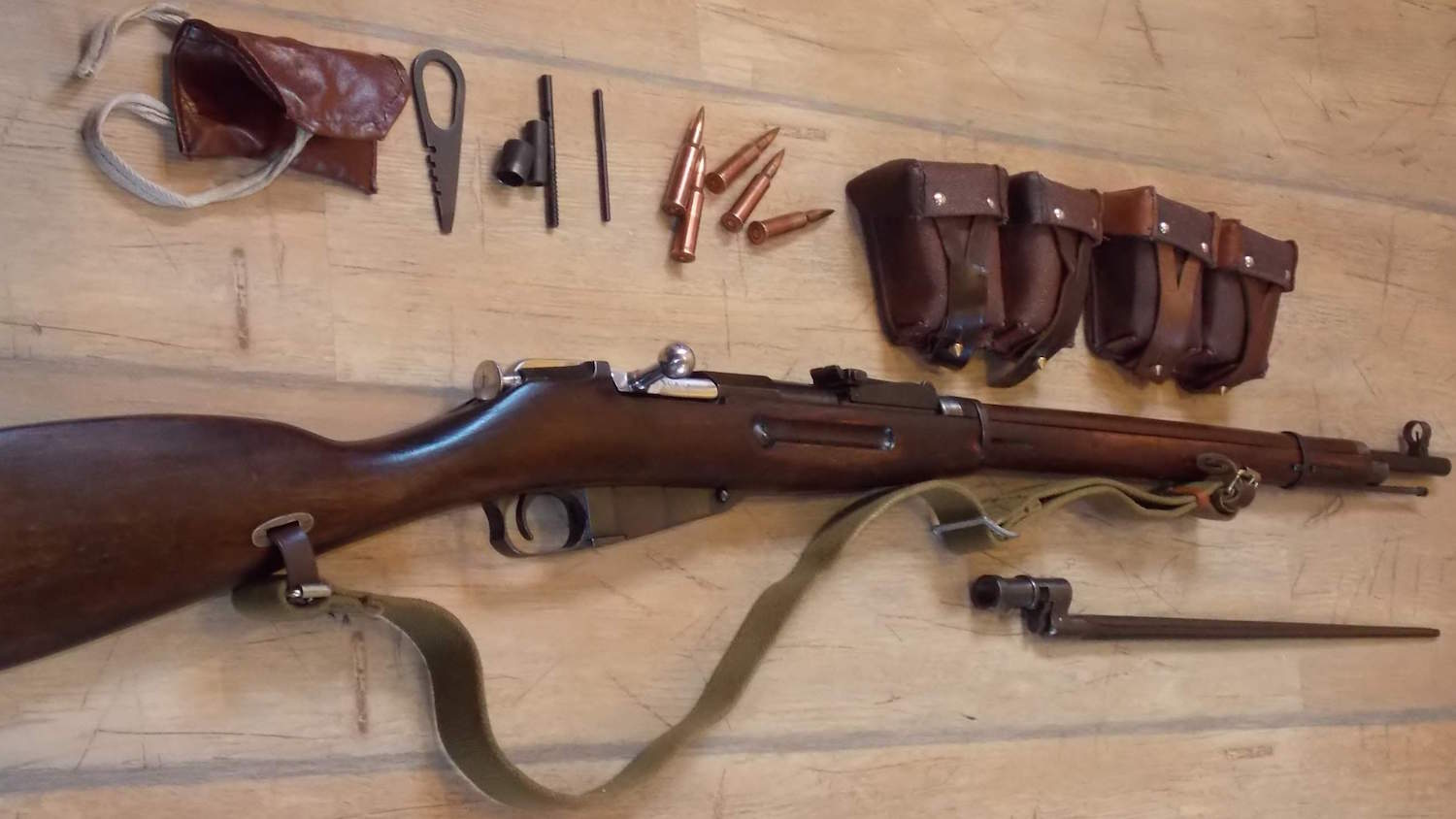 The Mosin-Nagant: Russia's Other Legendary Service Rifle