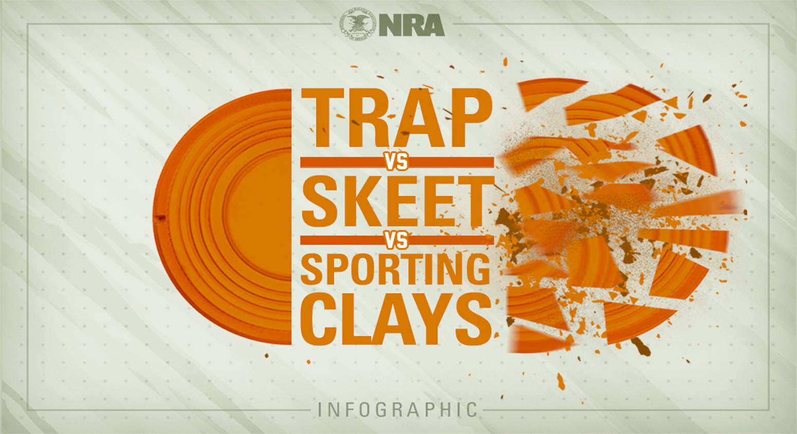Infographic: Trap vs. Skeet vs. Sporting Clays