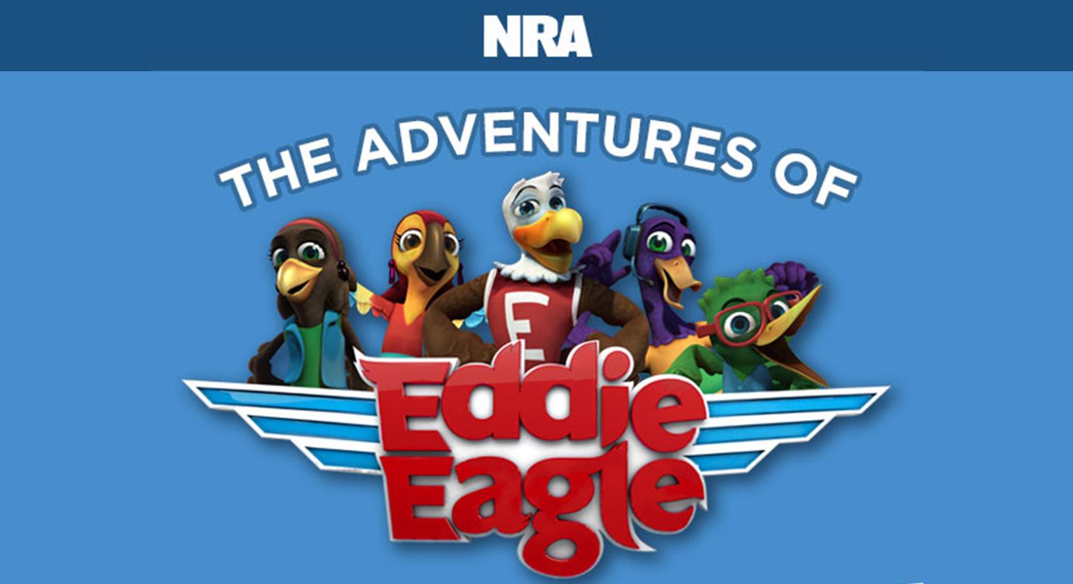 INFOGRAPHIC: The Adventures of Eddie Eagle