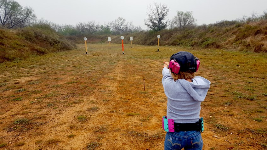 Pint-Sized Texan Teaching Competition What it Means to 'Shoot Like a Girl'