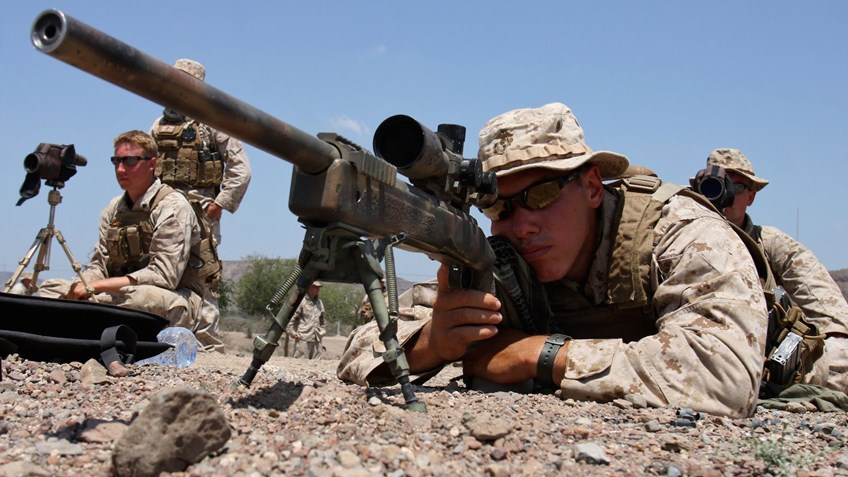 NRA Honors Top Marine Corps Scout Snipers At Annual Association Awards Ceremony