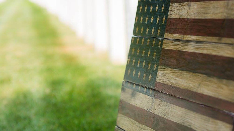 Flags of Valor. Veteran Owned. Combat Veteran Made.