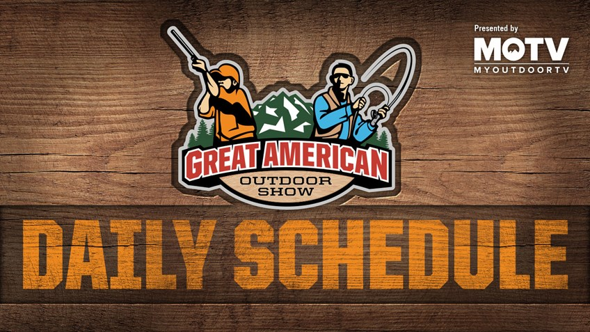 Great American Outdoor Show: Day 5 Schedule