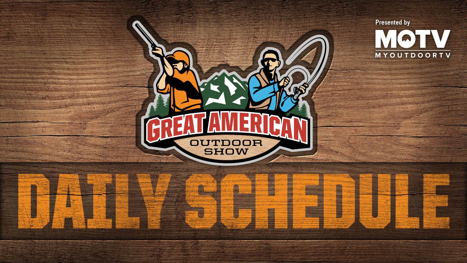 Great American Outdoor Show: Day 8 Schedule