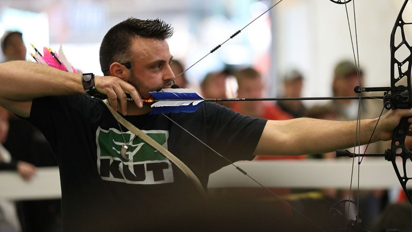 Staying on Target with Chris Brackett at the Great American Outdoor Show