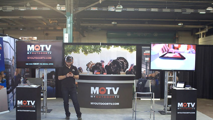 MyOutdoorTV Brings the Best of Outdoor Entertainment to the Great American Outdoor Show