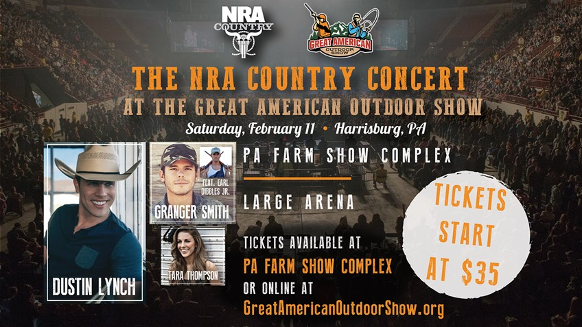 Enter to Win 2 Free Tickets to the NRA Country Concert at the Great American Outdoor Show