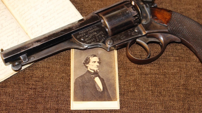 History in a Handgun: Jefferson Davis and His Kerr Revolver