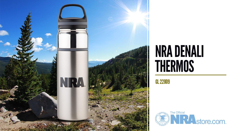 NRAstore Product Highlight: NRA Denali Thermos
