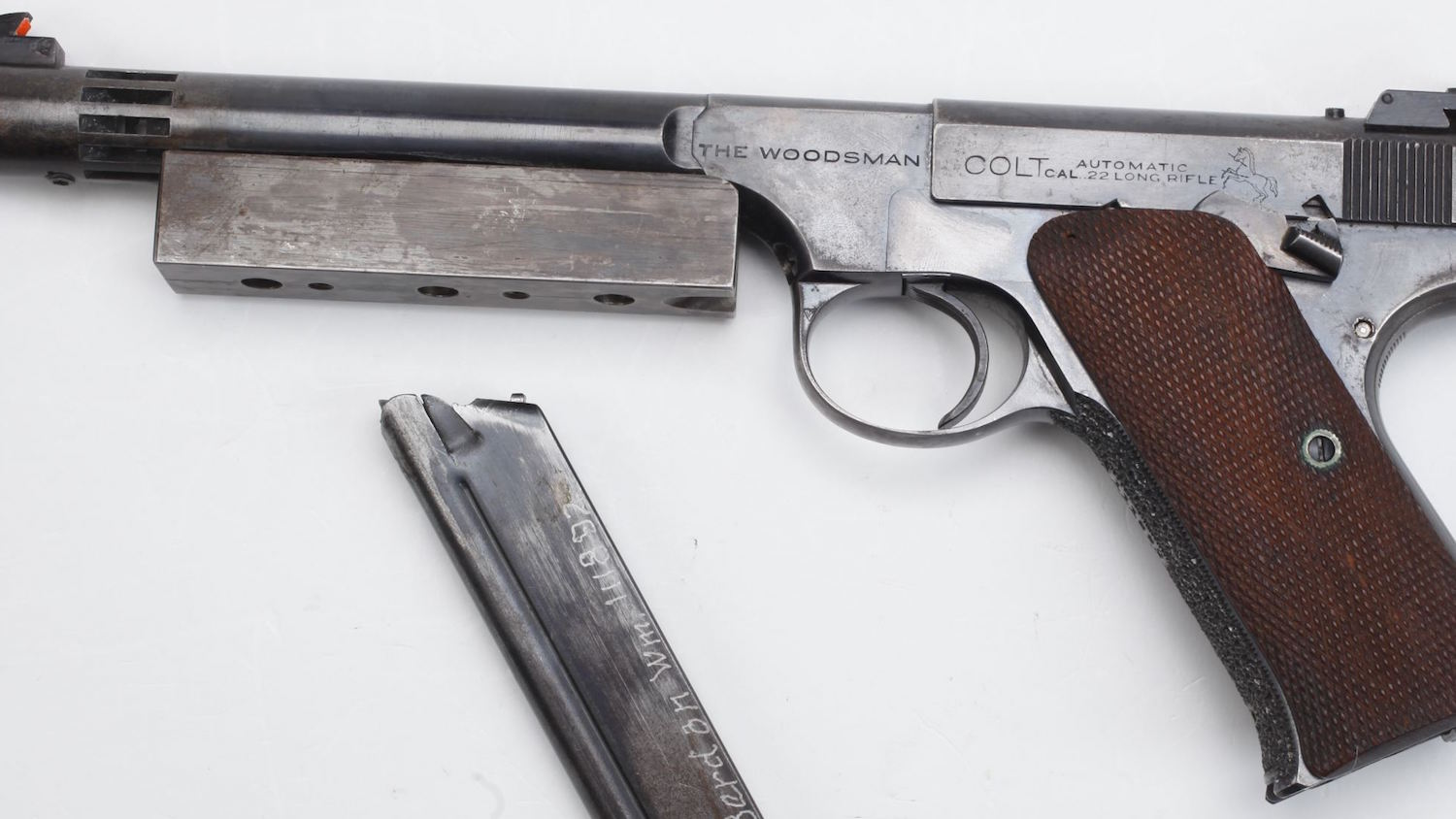 History in a Handgun: Capt. Thurman Barrier's Colt Woodsman