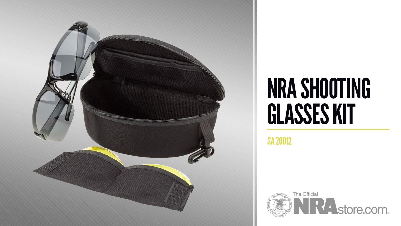 NRAstore Product Highlight: NRA Shooting Glasses Kit