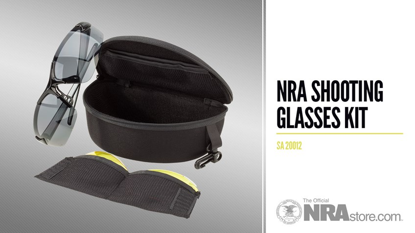 NRAstore Product Highlight: NRA Shooting Glasses Kit