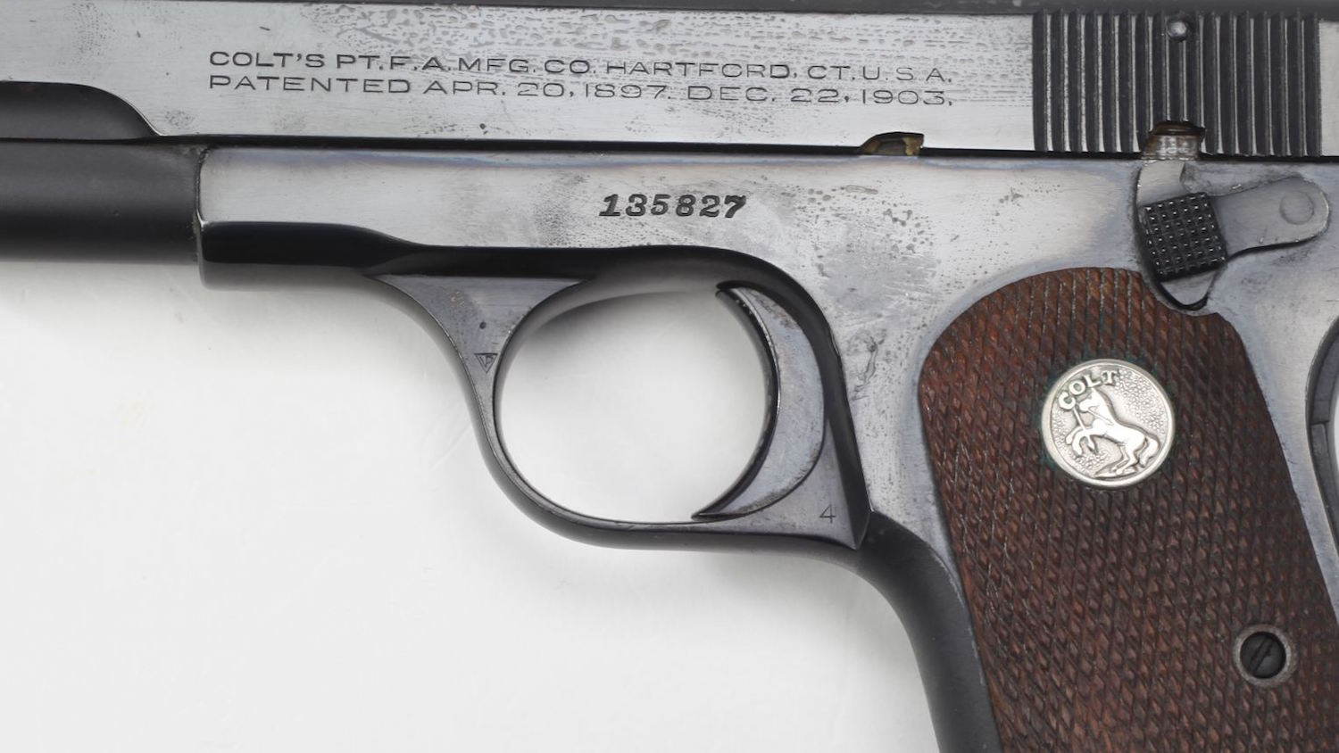 History in a Handgun: Gen. Ridgely Gaither's Colt .380