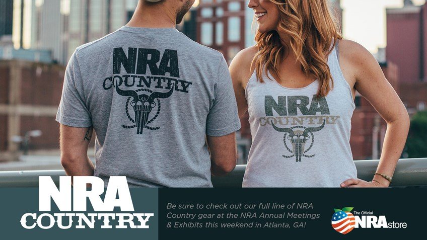 NRA Country Gear Available At The NRAstore In Atlanta