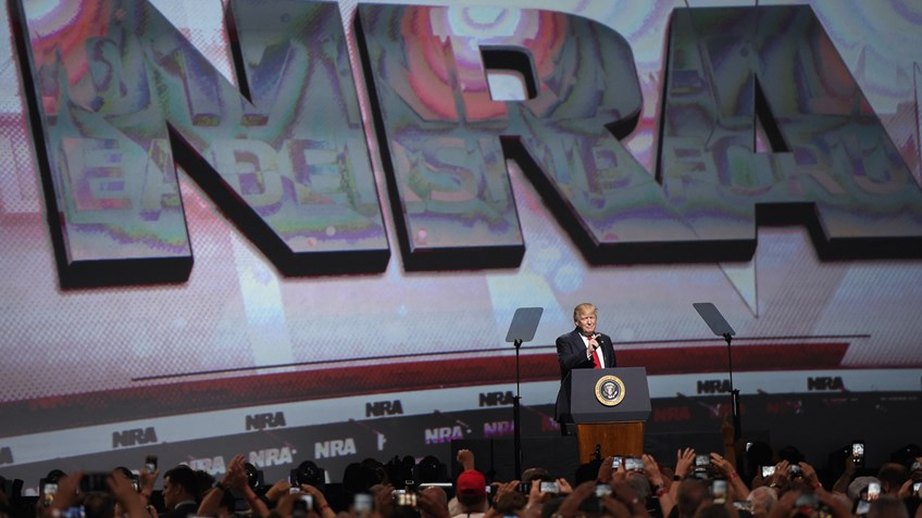 Remarks At 2017 NRA-ILA Leadership Forum Proves Freedom's Future Is Brighter Than Ever