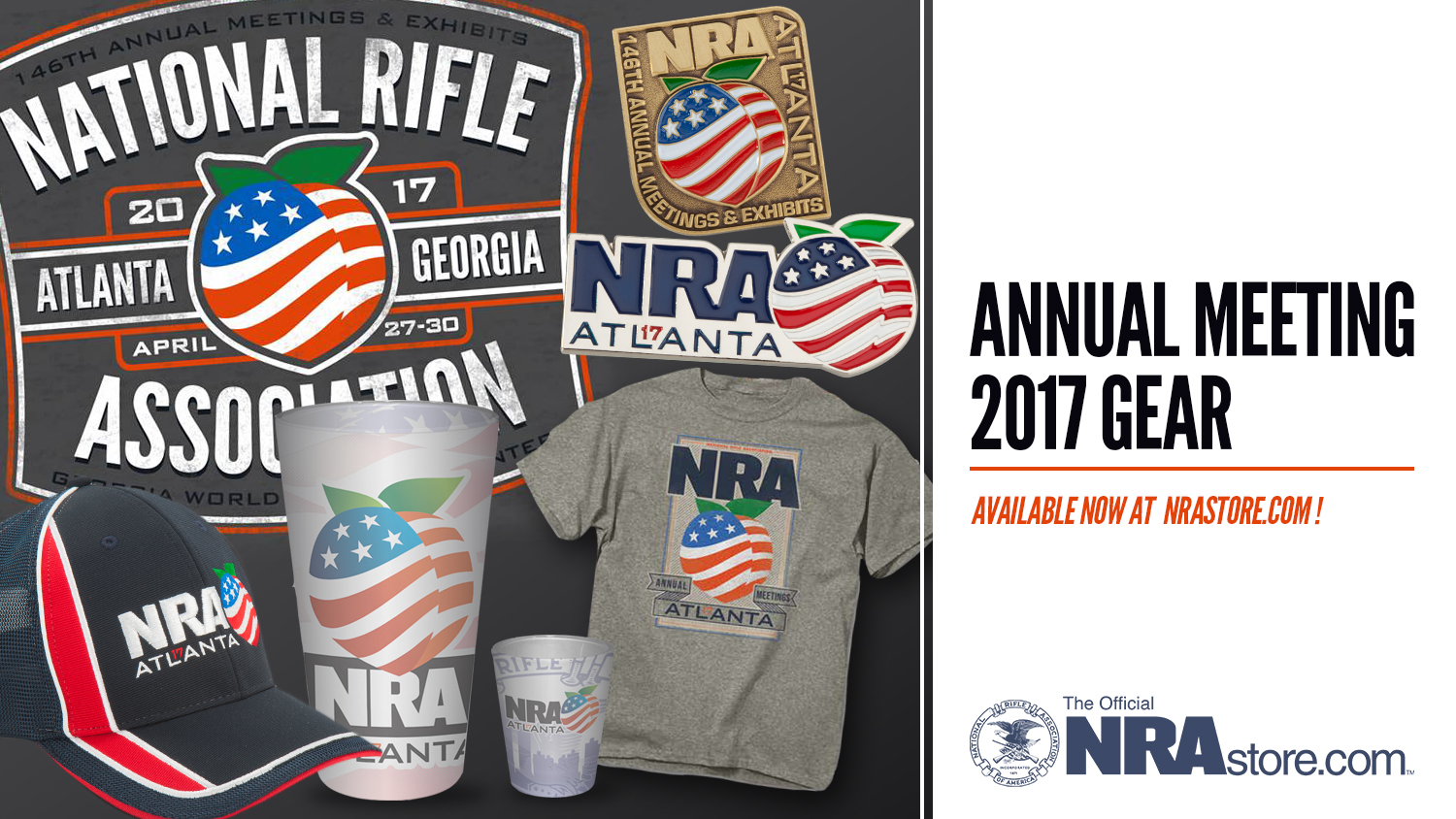 NRA Annual Meeting Gear Available Online