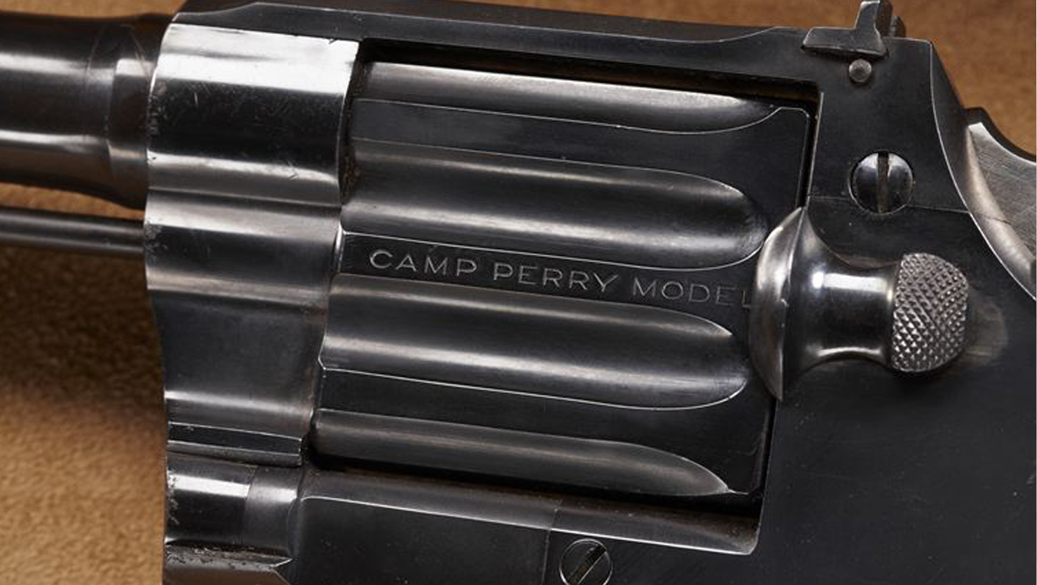 History in a Handgun: Julian Hatcher's Colt Camp Perry Pistol