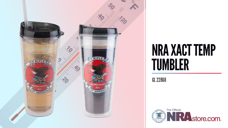 NRAstore Product Highlight: NRA Xact Temp Tumbler