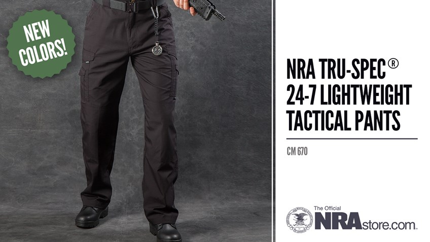 NRAstore Product Highlight: TRU-SPEC® 24-7 Lightweight Tactical Pants