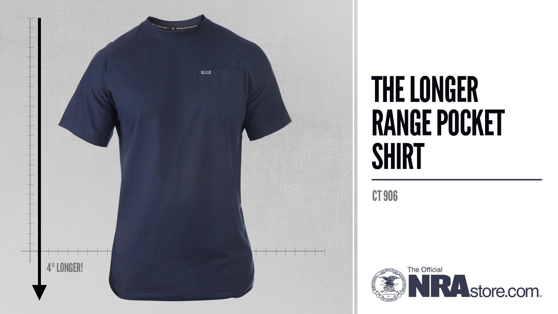 NRAstore Product Highlight: The Longer Range Pocket T-Shirt