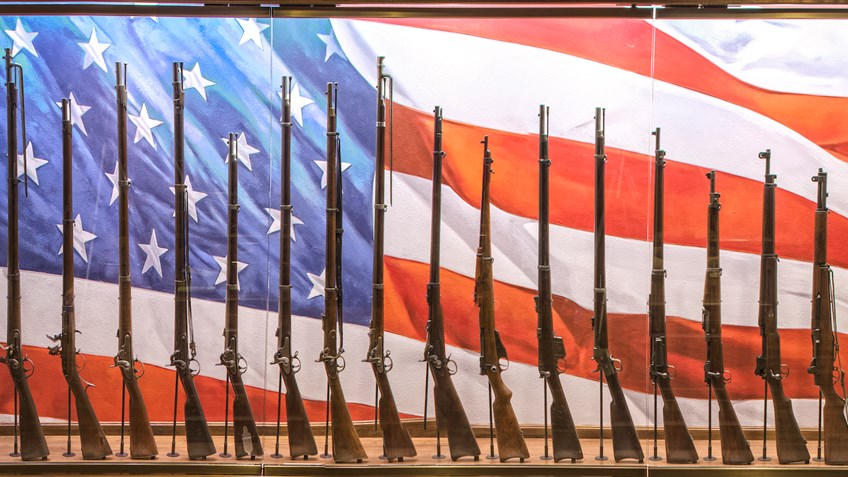 21-Gun Salute: NRA National Sporting Arms Museum Tribute To The American Flag