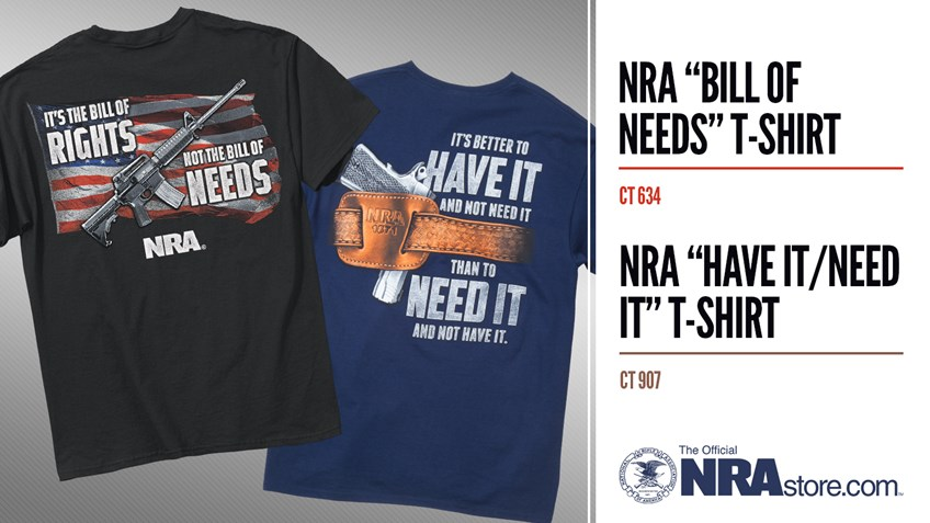 Patriotic T-Shirts Available At NRAstore!