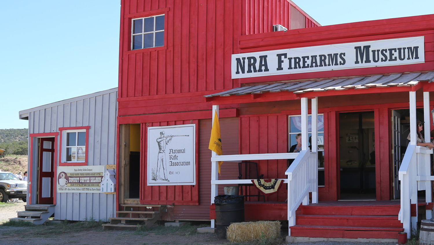 World's Most Famous Gun on Display at End of Trail