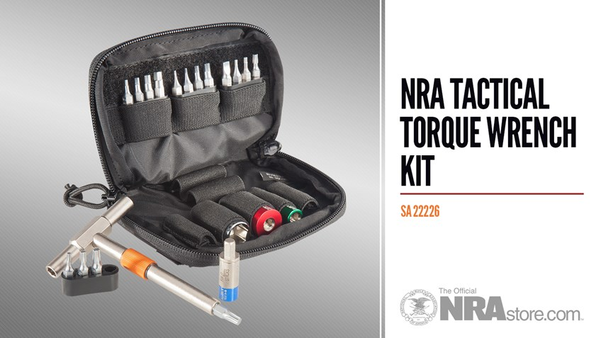 NRAstore Product Highlight: NRA Tactical Torque Wrench Kit