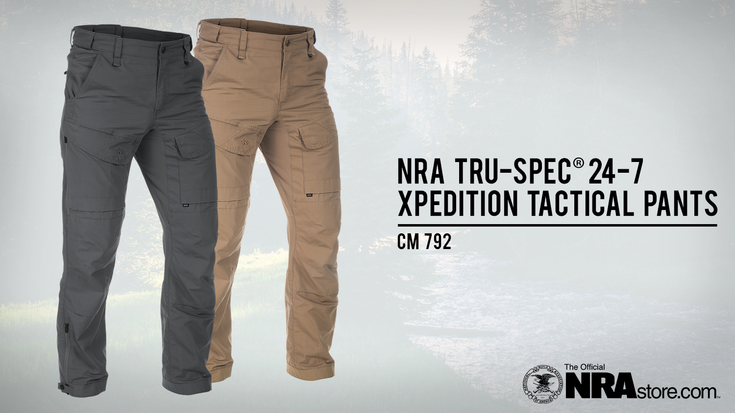NRAstore Product Highlight: TRU-SPEC® 24-7 Xpedition™ Pants