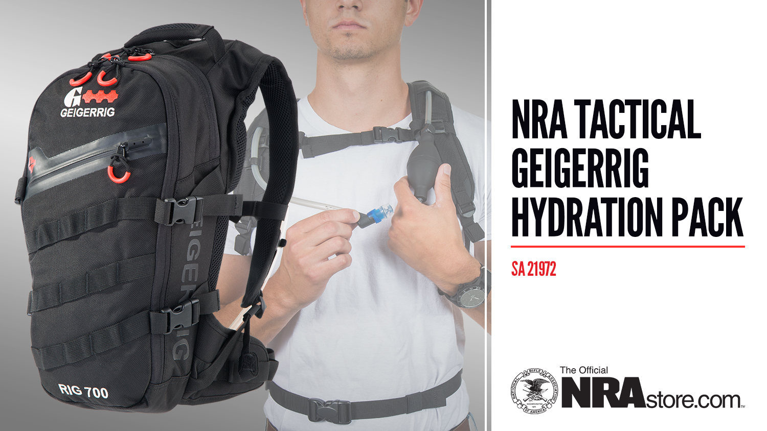 NRAstore Product Highlight: Tactical Geigerrig Hydration Pack