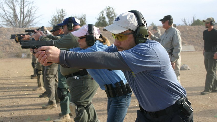 Pistol Shooting Positions: Weaver Vs. Isosceles