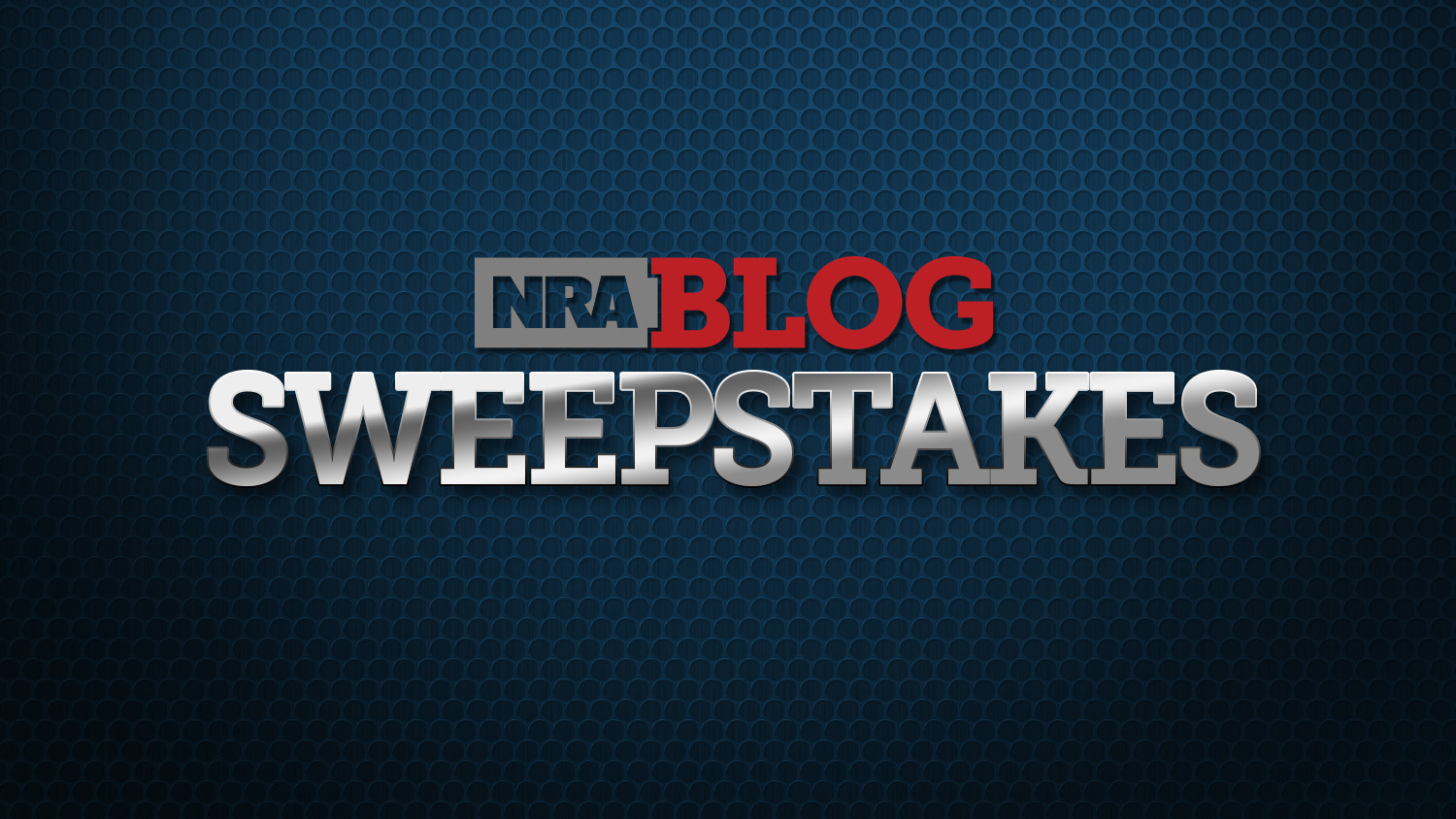 Enter To Win The NRA Blog September Sweepstakes!