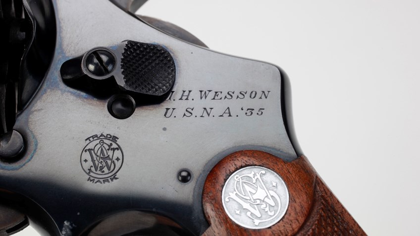 A Seagoing Sixgun: Ensign Joseph H. Wesson's Smith & Wesson Model 1917 Revolver
