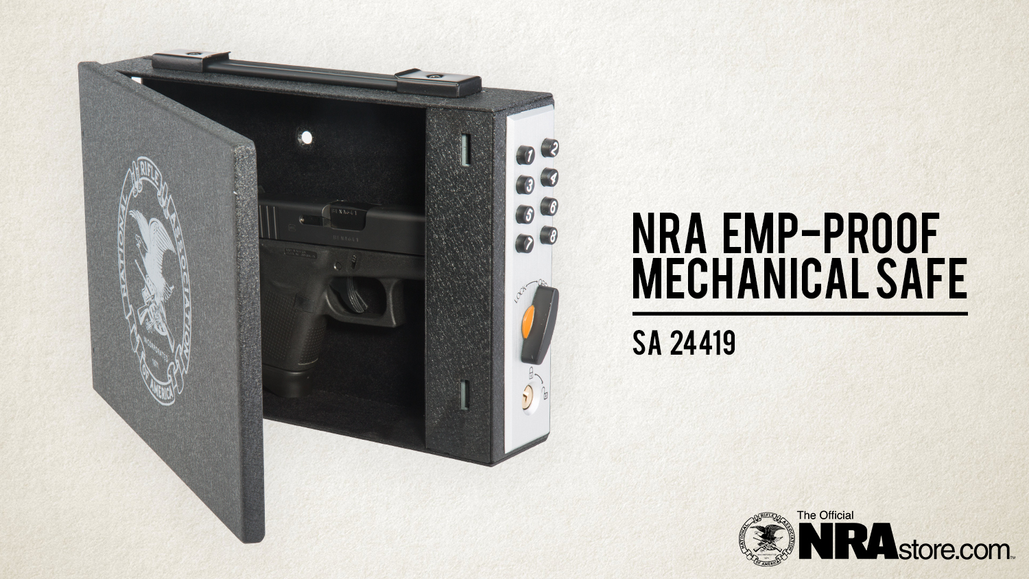 NRAstore Product Highlight: The NRA EMP-Proof Mechanical Safe