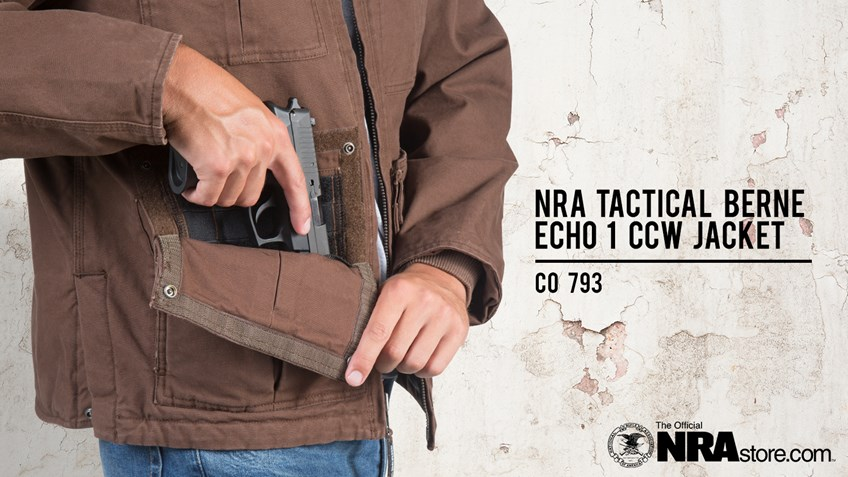 NRAstore Product Highlight: NRA Tactical Berne Echo 1 CCW Jacket