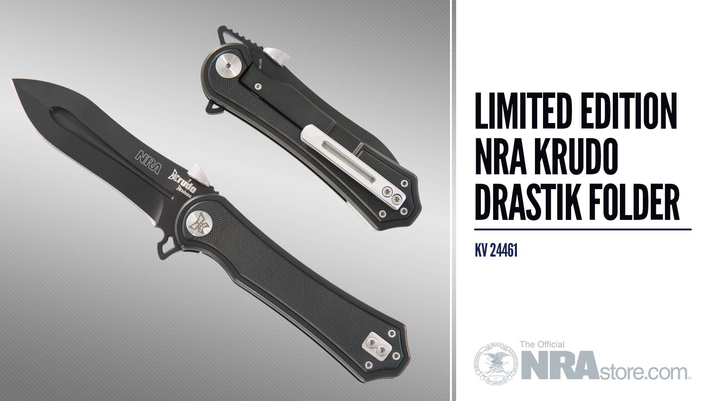 NRAstore Product Highlight: NRA Krudo Drastik Folder