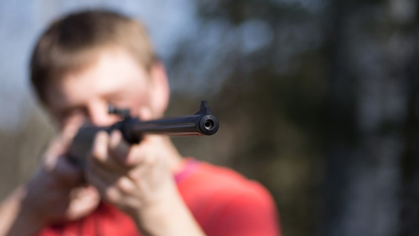 Teens Learn to Shoot at American Legion Post