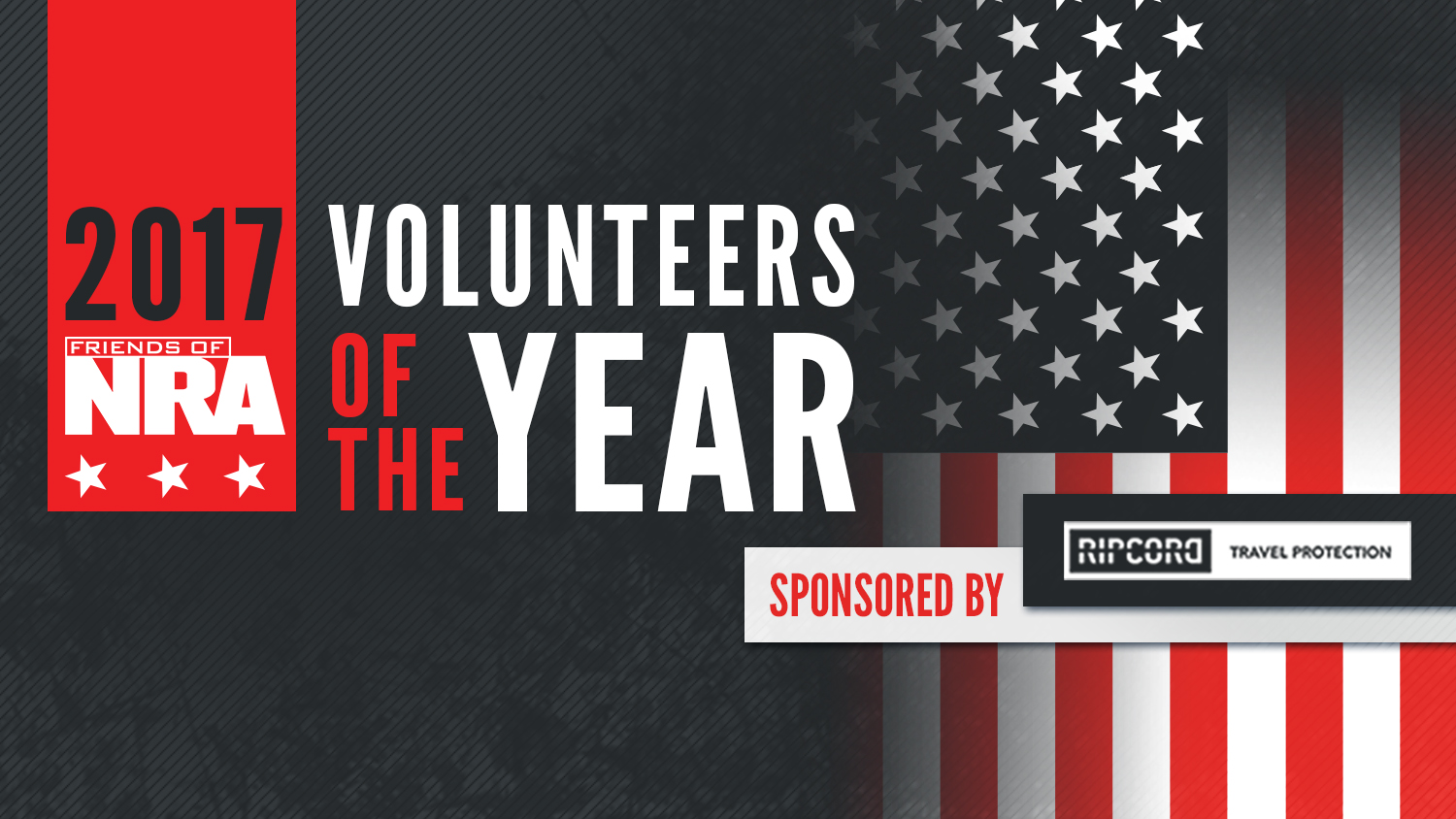Friends of NRA Announces its 2017 Volunteers of the Year