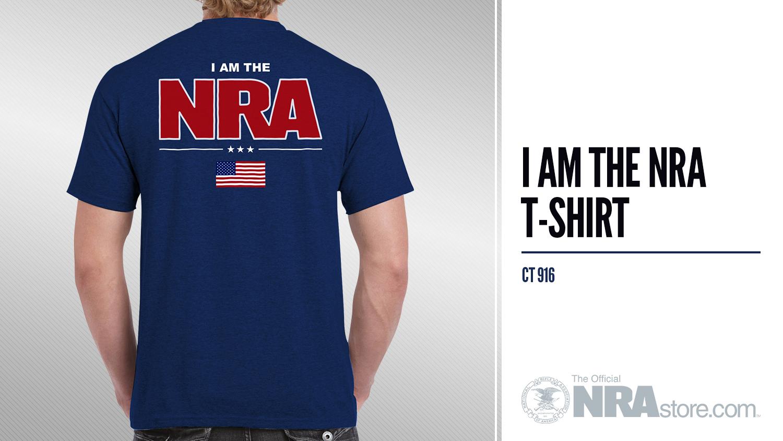 NRAstore Product Highlight: 'I AM THE NRA' T-Shirt