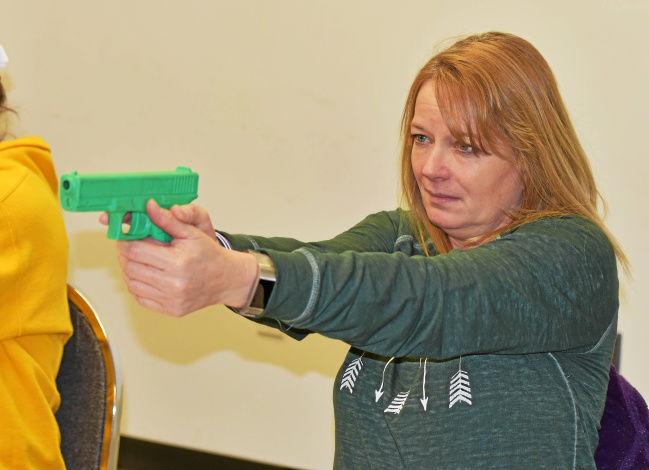 The News-Herald: School personnel flock to Michigan gun range for free handgun training