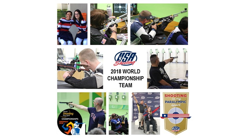 NRA Foundation Funds Athlete Travel To World Shooting Para Sport Championships