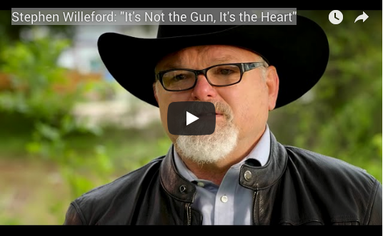 Stephen Willeford Appears in NRA Ad