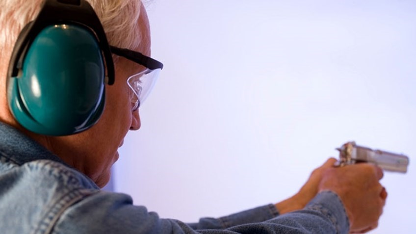 Pistol Shooting With Physical Challenges