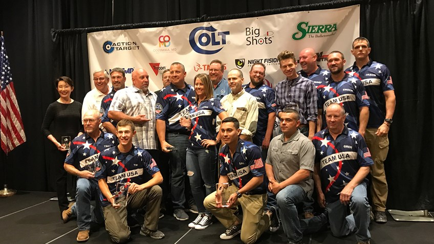 Team USA Wins 2018 World Action Pistol Championship