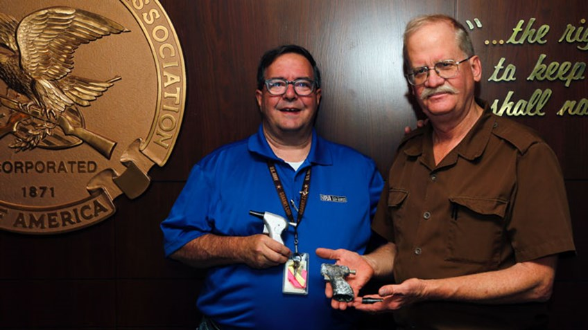 NRA Museums Accepts CIA Deer Pistol