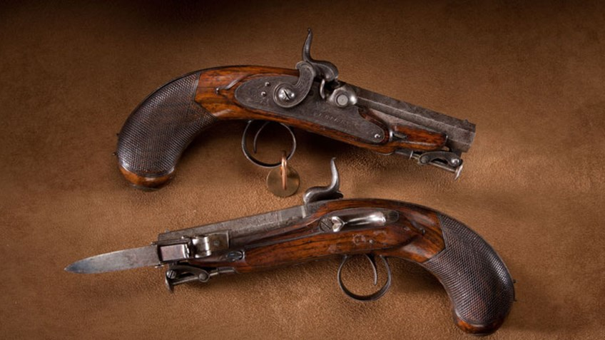 Throwback Thursday: Rigby Great Coat Pistols