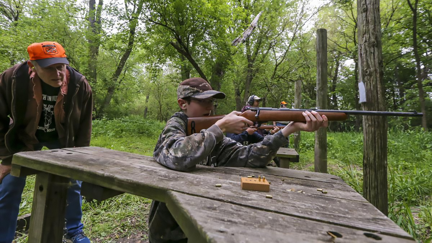 Quad-City Times: Youth Hunter Education Challenge offers one Scott County boy connection to late father