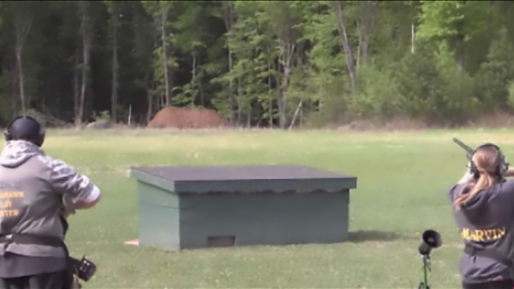 Newswatch 12: High school trap shooting soars in popularity and teaches gun safety to kids